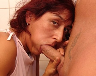 She loves eating ass and sucking cock
